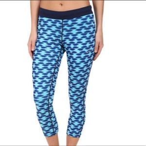 Nike Dri-Fit Relay Printed Running Crop Legging